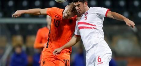 Record voor Jong Oranje bij eenvoudige zege op Jong Gibraltar