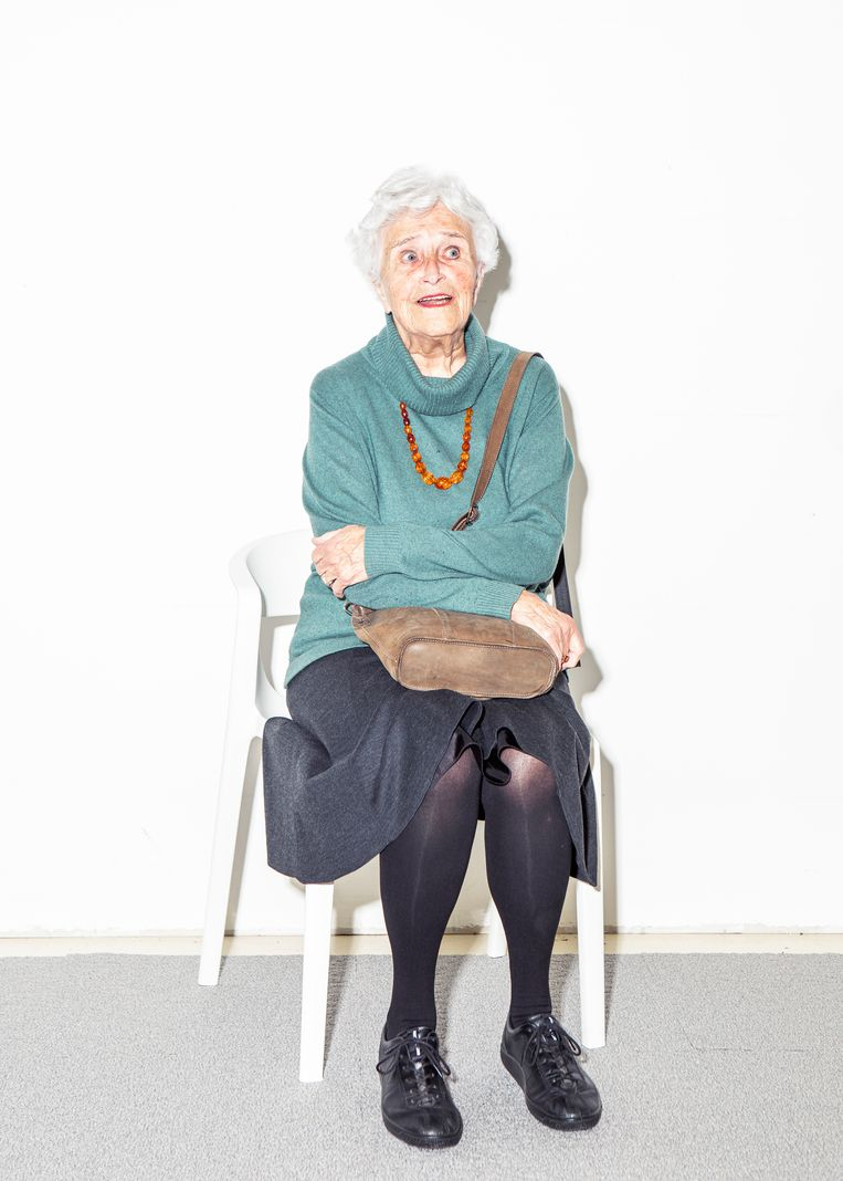 Alida Tartaud, 87 jaar. Beeld Hilde Harshagen