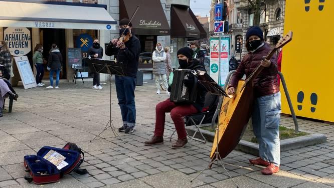 Terug straatmuzikanten in Gent, en dat zorgt meteen voor sfeer
