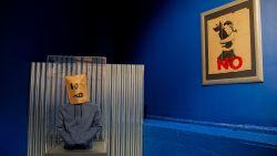 Twee originele werken van Banksy te zien in België
