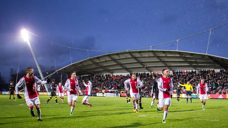 Trainingscomplex De Toekomst van Ajax. Beeld Pro Shots / Erwin Spek