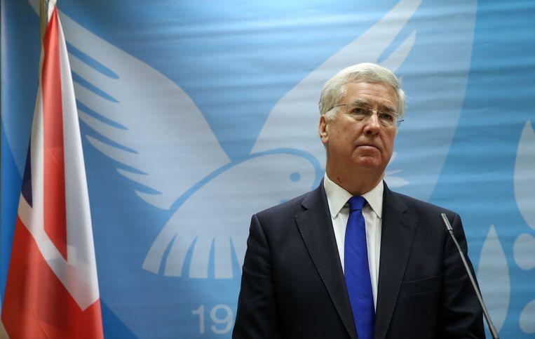 Er was al maandenlang grote druk op minister van Defensie Michael Fallon (foto) om