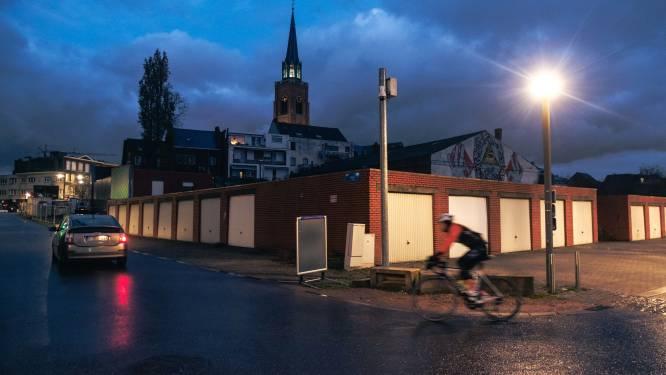 Garages aan Windstraat ruimen plaats voor nieuwe parking