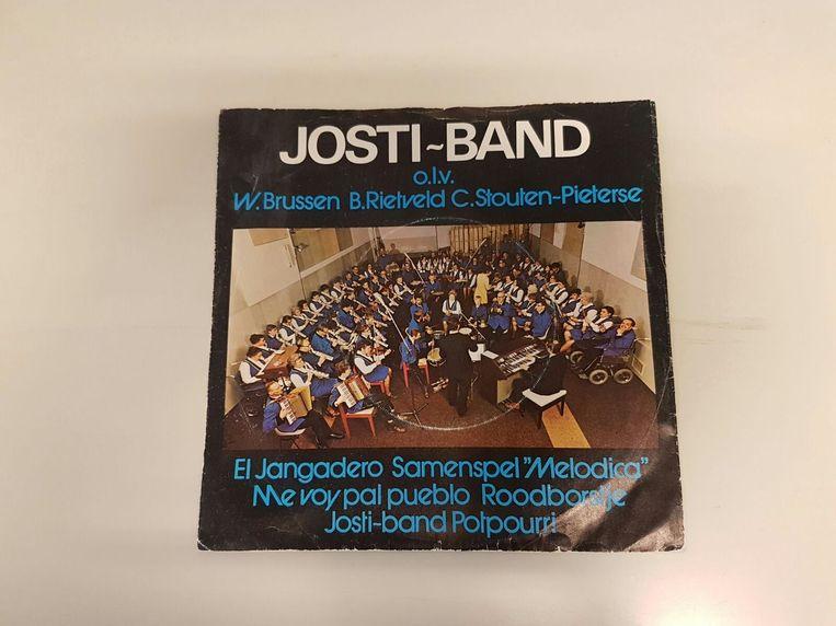 De eerste single, uit 1972. Beeld