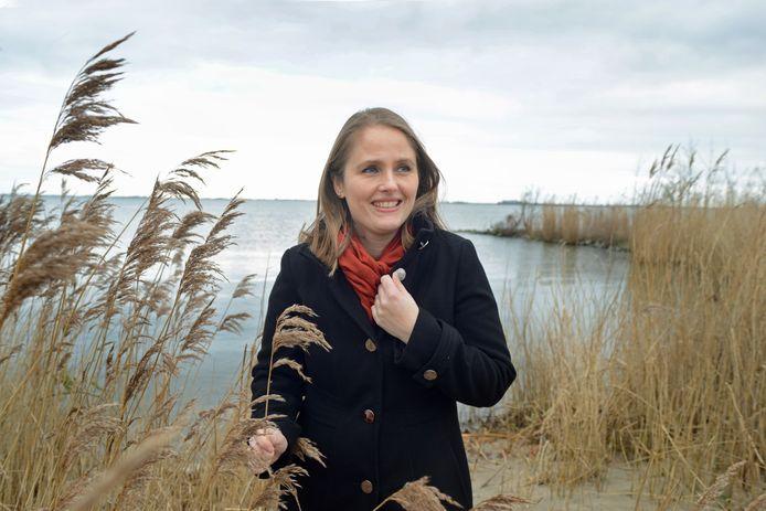 Saskia Maaskant woont met haar gezin in Sommelsdijk, maar is nog vaak in Bruinisse te vinden waar veel familie woont.