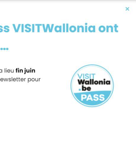 Les pass VisitWallonia écoulés en un quart d'heure