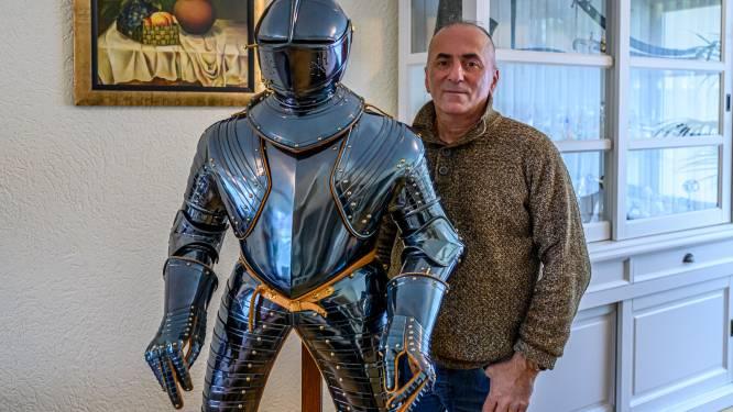 Passie voor harnas en zwaard, wapensmid exposeert in Markiezenhof: 'Boven verwachting, zo mooi'