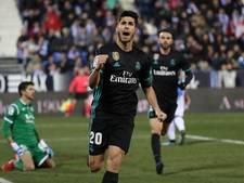 Asensio redt B-ploeg Real bij Leganés