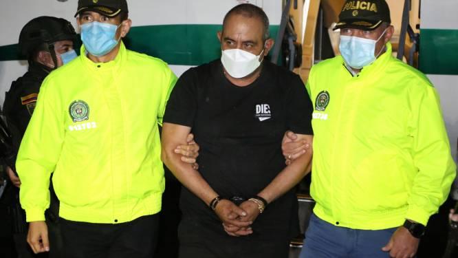 Colombia bereidt uitlevering van machtigste drugsbaron 'Otoniel' aan VS voor