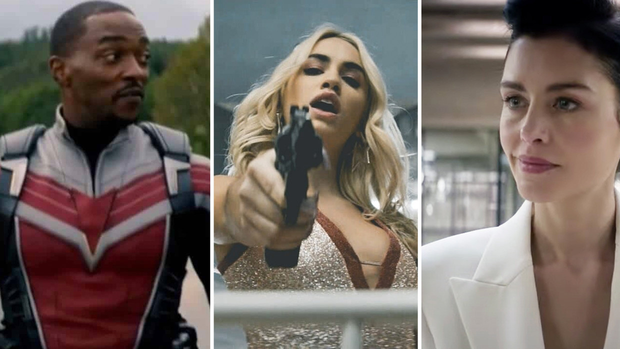 'Falcon and Winter Soldier', 'Sky Rojo', 'The One' Beeld Humo