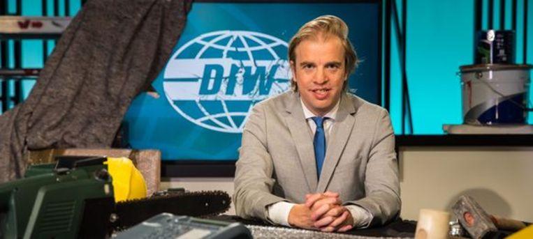Jan Jaap van der Wal, presentator van 'De ideale wereld',  Beeld Canvas