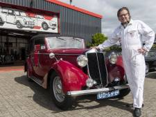 Oldtimerverzamelaar Norman uit Hengevelde tikte een unieke klassieke auto op de kop: er is er maar eentje van op de hele wereld