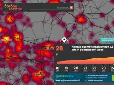 CORONAKAART | Opvallend veel coronadoden gemeld in deze regio, hoge besmettingscijfers in Neder-Betuwe en Ede