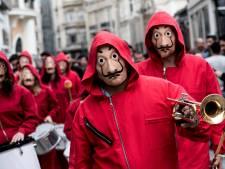 Netflix-hit La Casa de Papel verovert nu ook carnaval