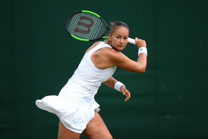 Voor de tweede week op rij wist Lesley Pattinama-Kerkhove het hoofdtoernooi van een WTA-toernooi te halen.