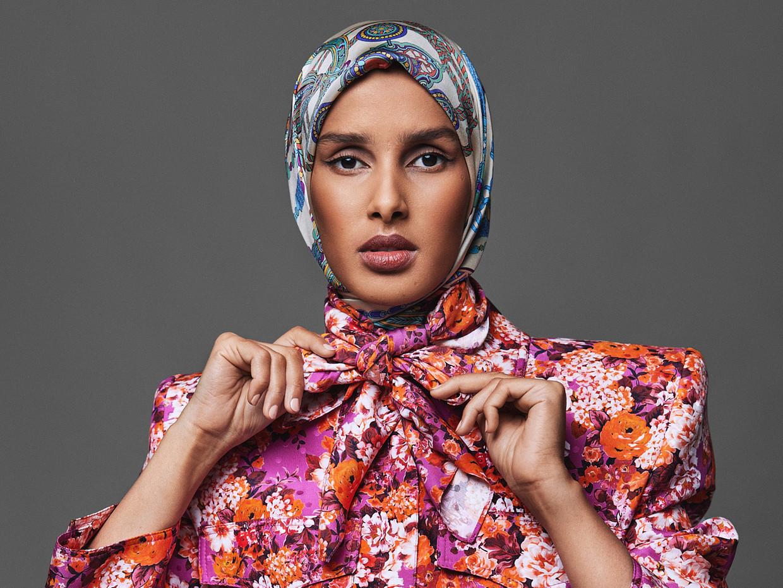 Rawdah Mohamed. 'De hidjab werd een deel van mijn identiteit. Hij viel samen met wie ik ben.'  Beeld Ole Martin Halvorsen