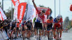 Meteen raak voor Mathieu van der Poel: hij wint in Turkije eerste koers van zijn wegseizoen