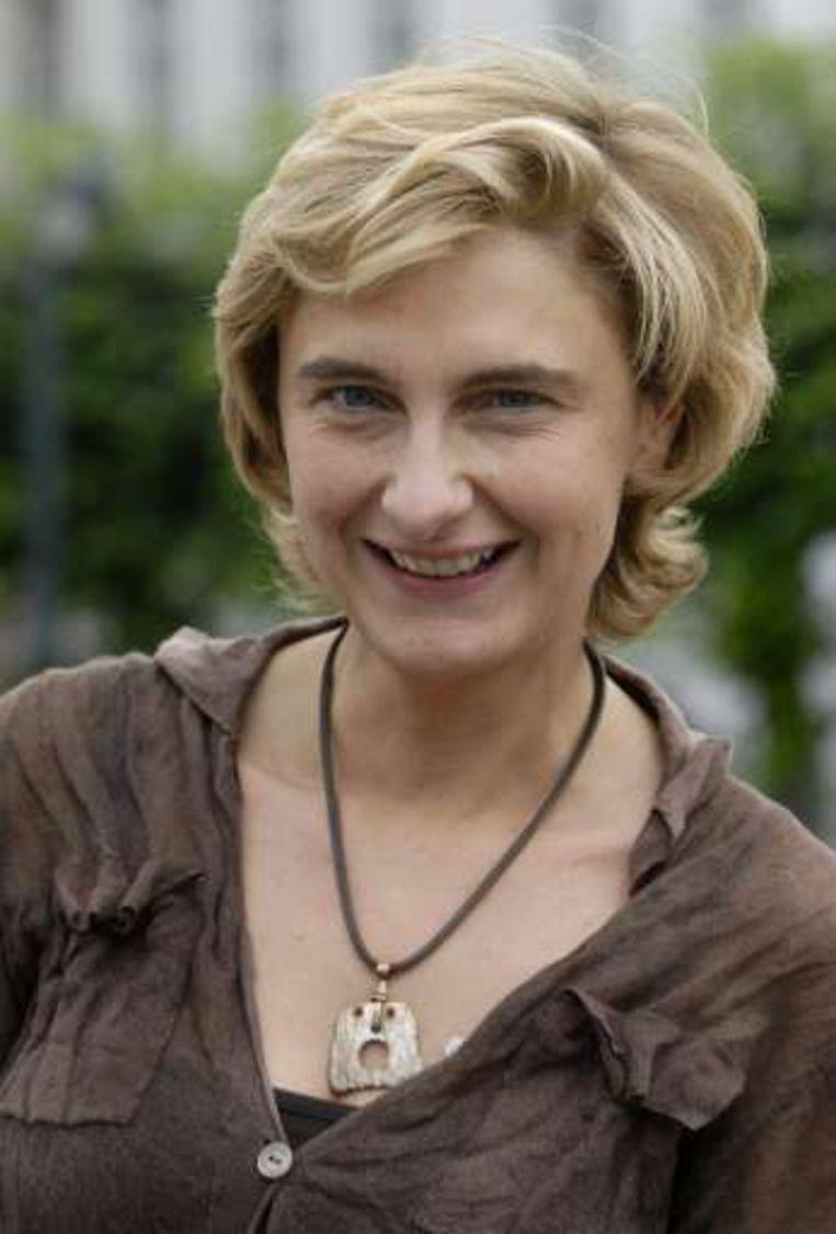 Vlaams minister van Openbare Werken Hilde Crevits.