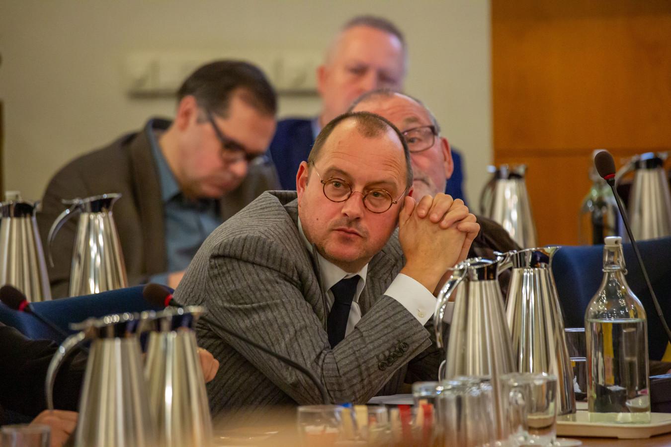 Arjan van der Weegen is nu gemeenteraadslid voor de lokale partij GBWP in Bergen op Zoom