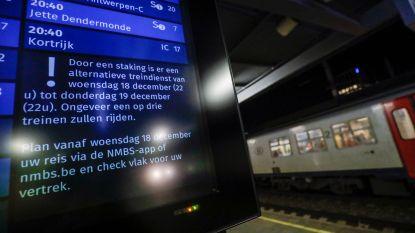 """NMBS: """"Voorziene treinen rijden effectief, maar blijf routeplanner checken"""""""