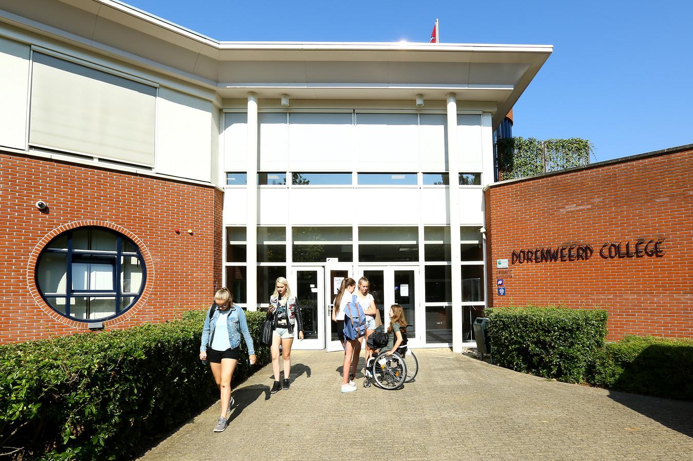 Het Dorenweerd College in Doorwerth. Archieffoto uit 2017.