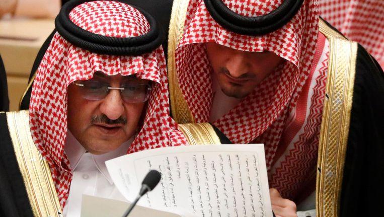 De Saudische kroonprins prins Muhammad bin Nayef op 19 september. Beeld reuters