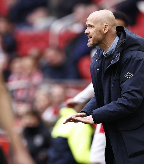 Erik ten Hag prolonge à l'Ajax jusqu'en 2023