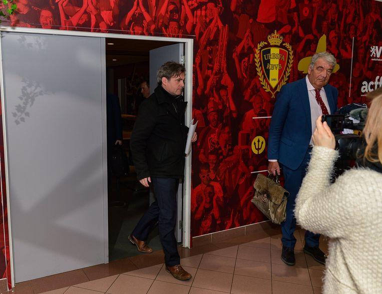 Patrick Decuyper, de nieuwe sterke man van Antwerp, haalde zijn slag thuis. Beeld Photo News
