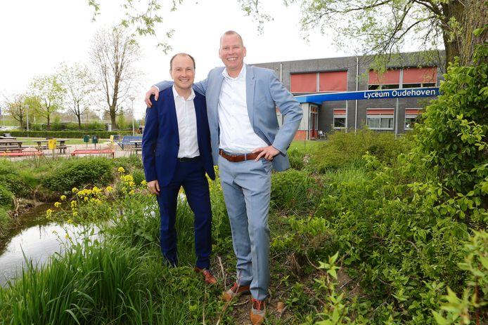 Eric van 't Zelfde (rechts) en Jeroen Spek.