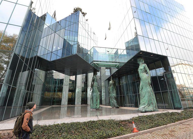 Het Hooggerechtshof in Warschau in oktober 2018. Beeld AP