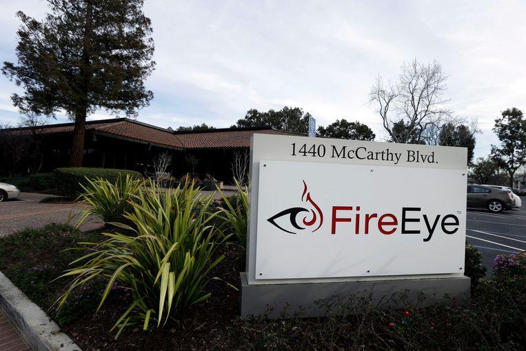 Een kantoor van FireEye in Californië. Beeld AP