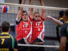 Reflex schiet uit de startblokken bij start van de volleybalcompetitie, EVV haalt een punt