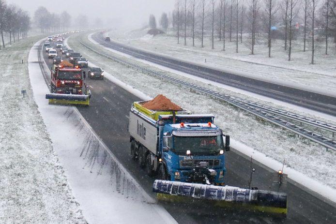 Vorige week sneeuwde het al in Zeeland.