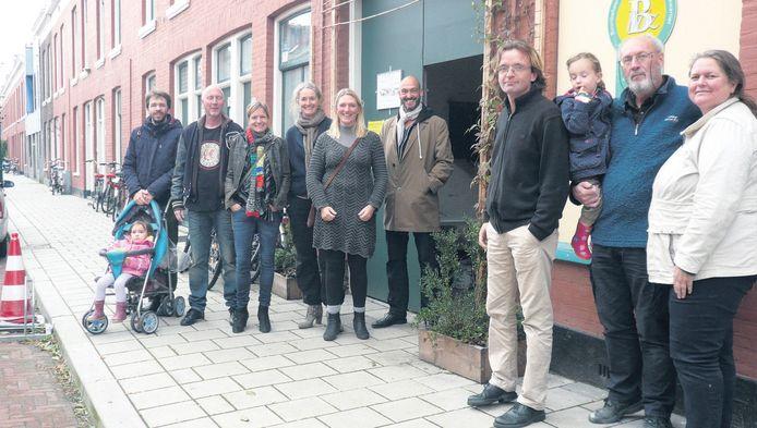 Bewoners van de Roggeveenstraat.