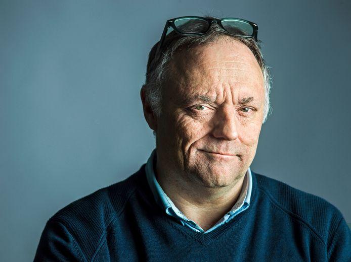 """Marc Van Ranst, """"homme de l'année"""" selon les lecteurs du magazine flamand Humo."""