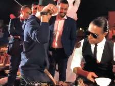 Neymar (se) régale chez Salt Bae, au Qatar
