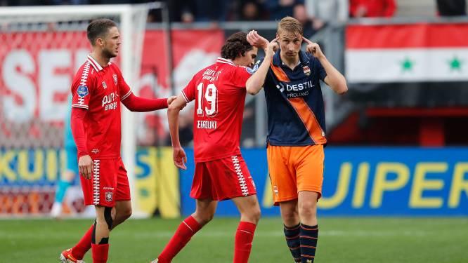 Frustratie, irritatie en een beetje acceptatie: Willem II pakt punt in Twentse snelkookpan