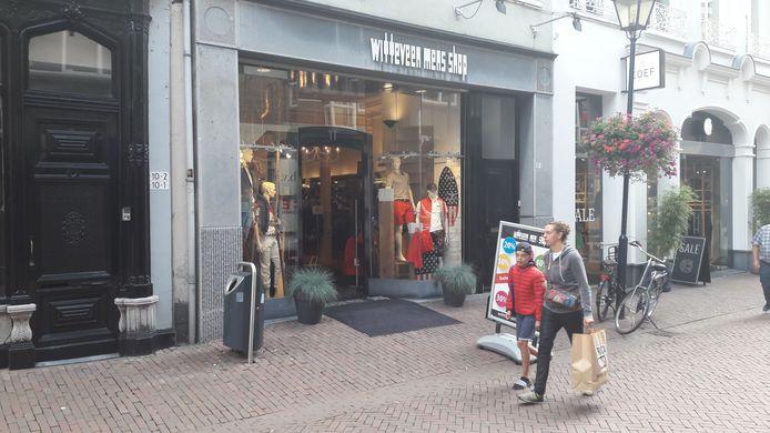 Witteveen Men's Shop in Arnhem.