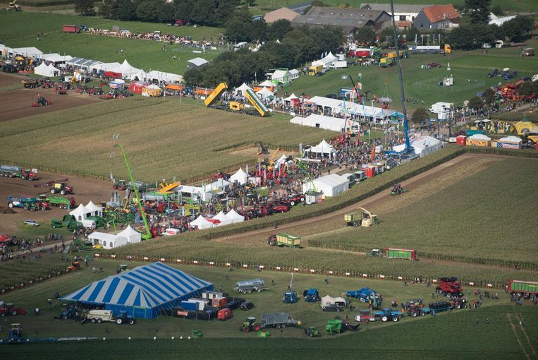 Het terrein is 120 hectare groot.