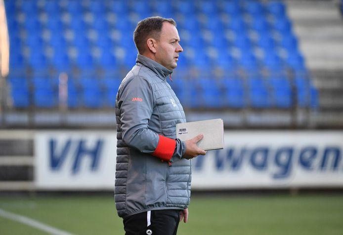 """Bart Janssens, trainer van ASV Geel: """"Negen maanden onderbreking is bijzonder lang."""""""
