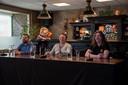 De persconferentie waarin de overname van de Feestfabriek door Superstruct wordt toegelicht.