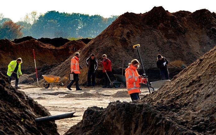 In Helmond-Brandevoort hebben archeologen een Romeinse nederzetting opgegraven.