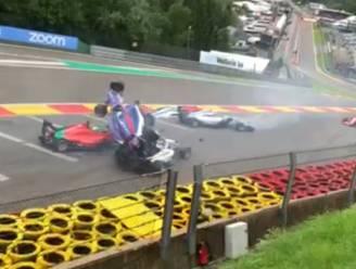 Twee piloten mogen ziekenhuis verlaten na grote crash in W Series op Spa-Francorchamps