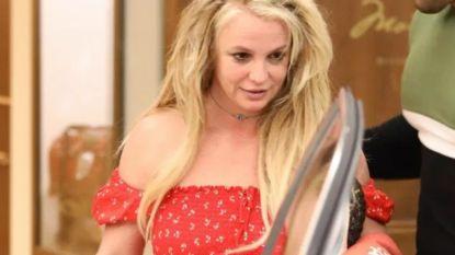 Britney duikt voor het eerst op na opname in psychiatrische kliniek