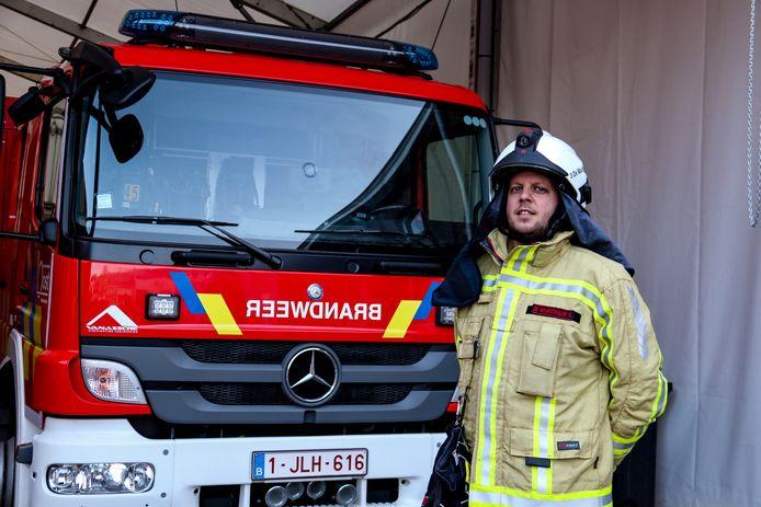 Robby is een van de nieuwste vrijwilligers. Hij is aan de slag bij het korps van Dendermonde en heeft geen spijt van zijn keuze.