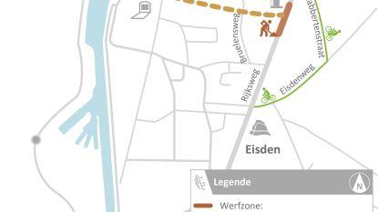 Volgende week start aanleg nieuw kruispunt N78 in Eisden