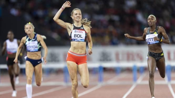 Zeges voor Femke Bol en Nadine Visser op Zwitsers atletiekgala