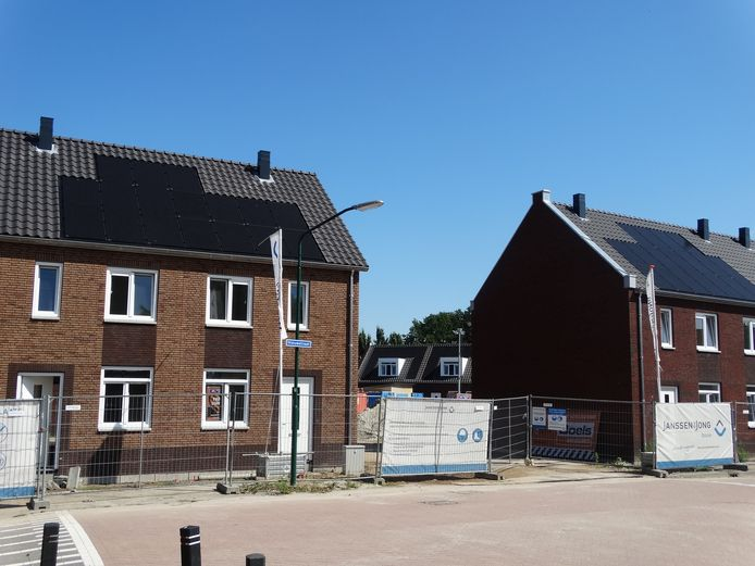 De woningen aan het Hof van Gerla zijn bijna klaar. De projectontwikkelaar heeft het plan doorverkocht aan een investeerder