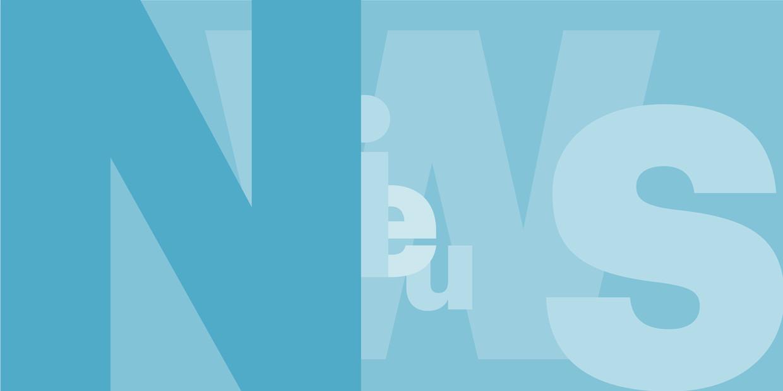 SITE artikel typografie Letter illustratie NIEUWS