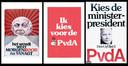 Verkiezingsposters van de PvdA